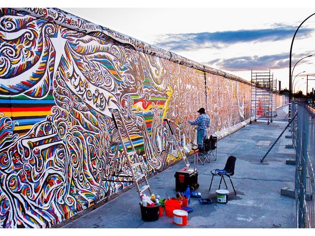 Берлинская стена фото