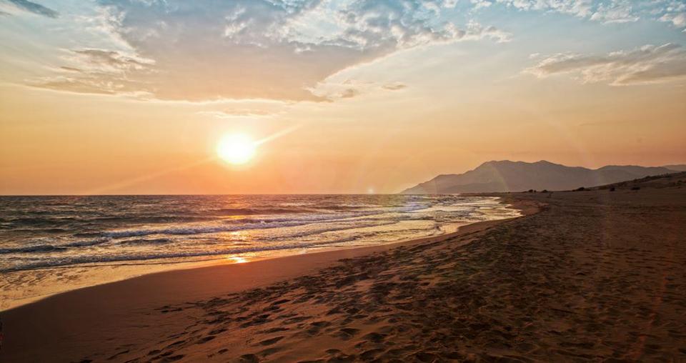 патара пляж турция