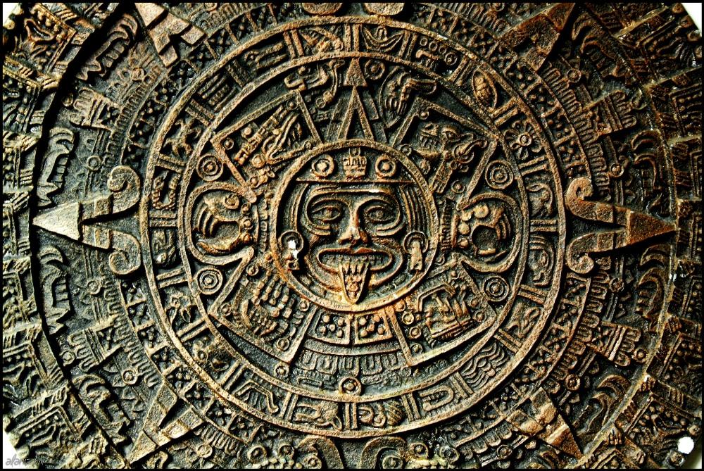 Ацтеки диск солнца