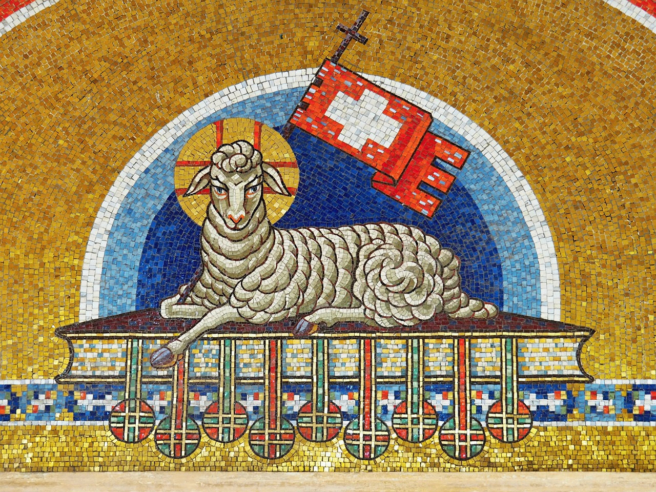 Агнец Божий - значение и происхождение фразеологизма