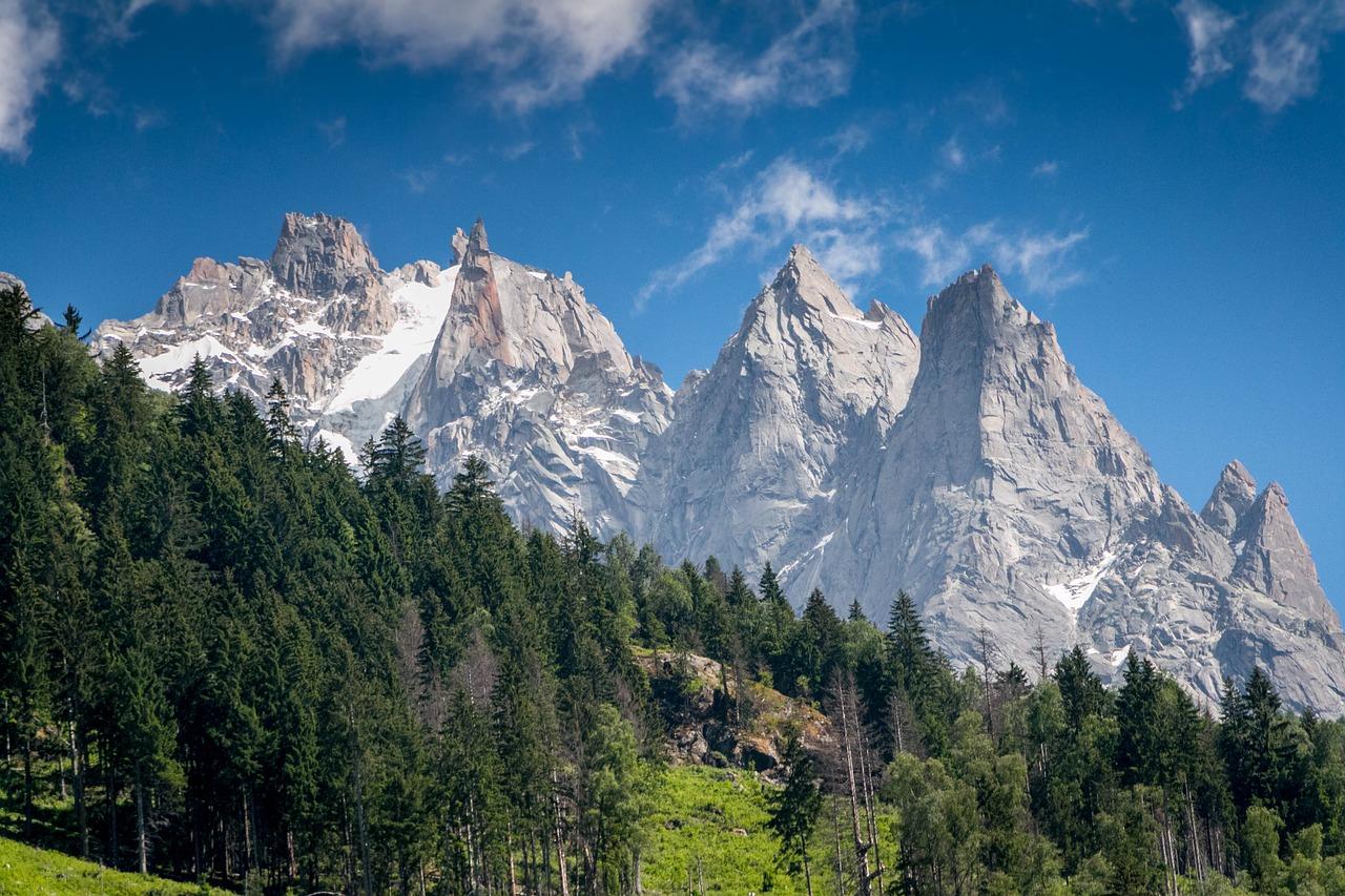 Горы и лес   70 деталей